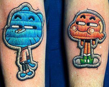 1 Matching Stitching Tattoo Designs