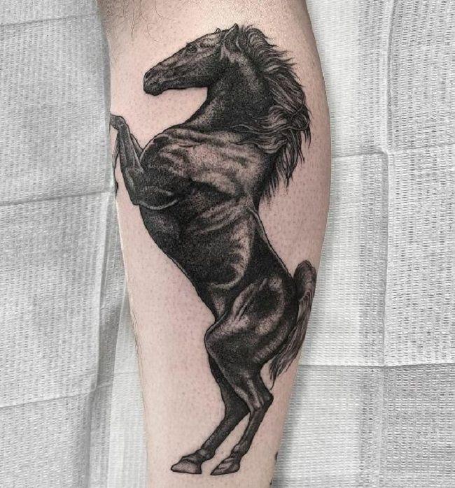 Black Horse Tattoo