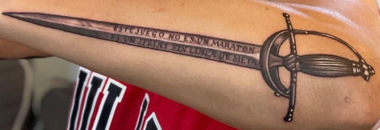 Brandon sword tattoo