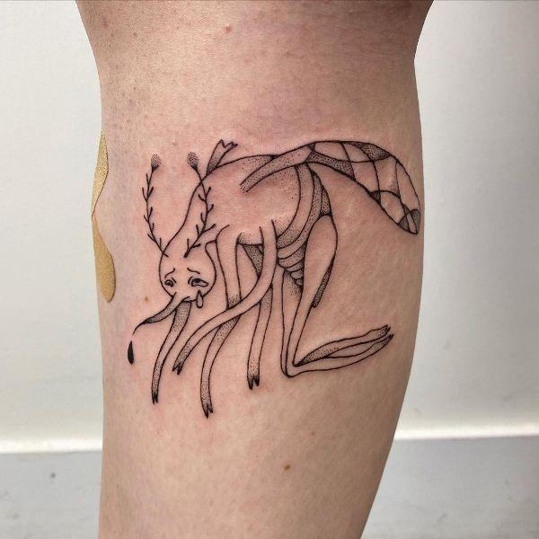 Crying-Mosquito Tattoo