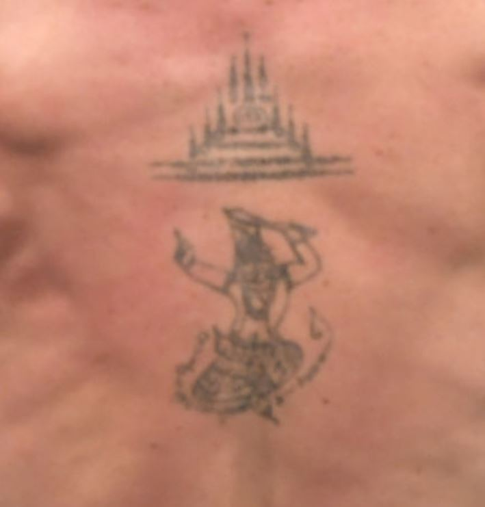 Darren back tattoo