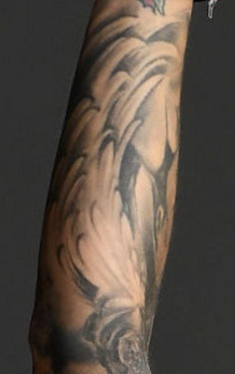 Germaine feathers tattoo