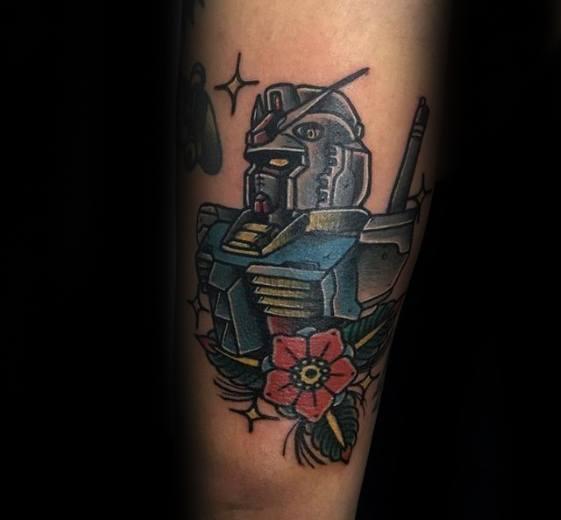 Gundam Tattoo