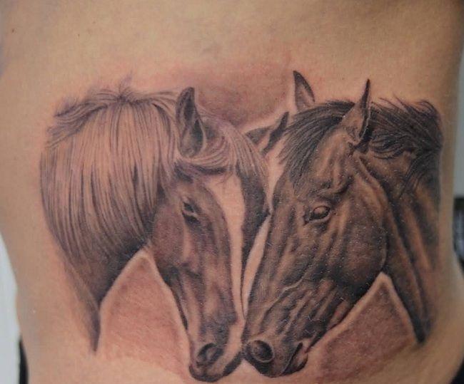 Horse Couple Tattoo