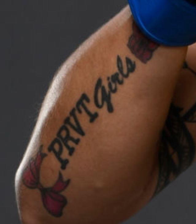 Jessica PRVT GIRLS tattoo