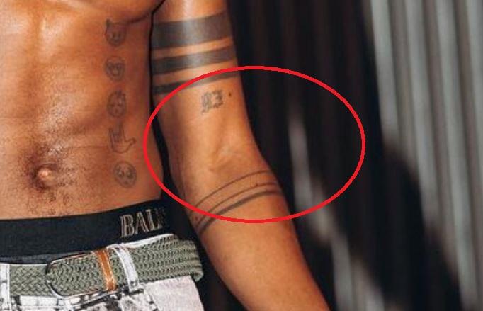 KiDi 93 tattoo