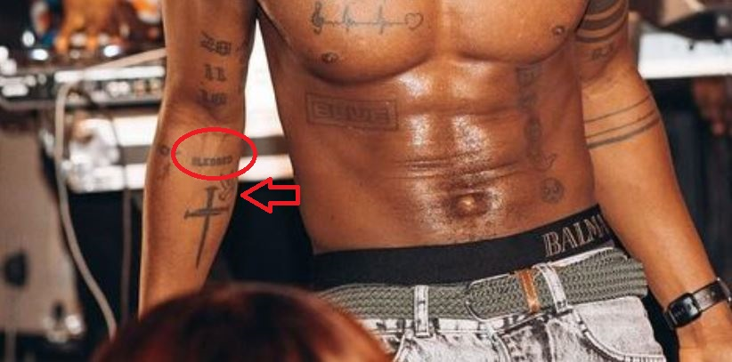 KiDi blessed tattoo