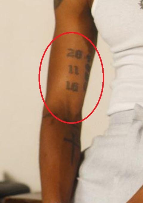 KiDi numbers tattoo