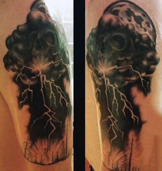 Lightning Tattoo