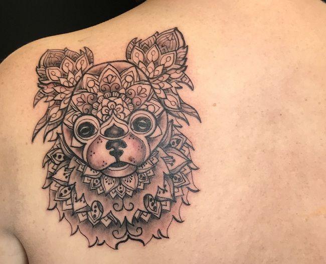 Mandala Chihuahua Tattoo