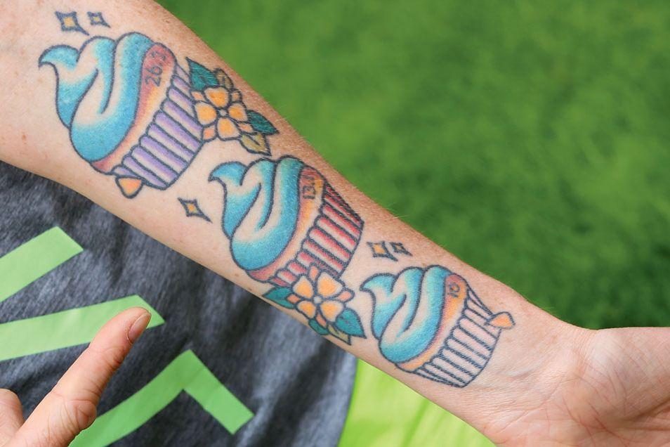Runner Tattoo