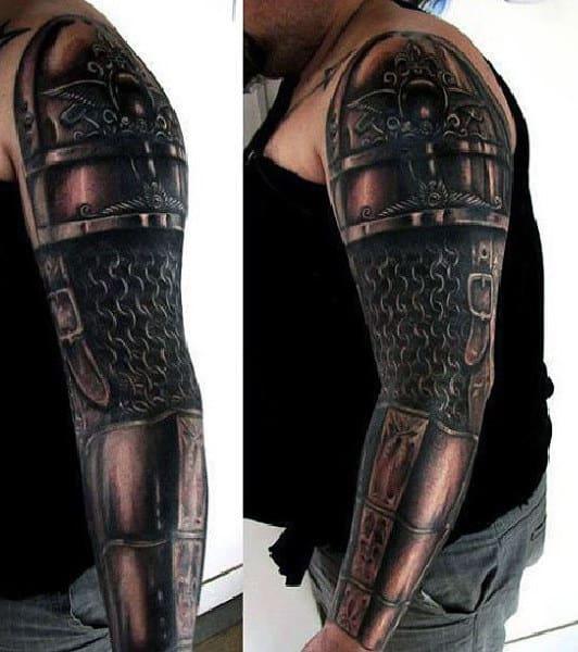 armor tattoo