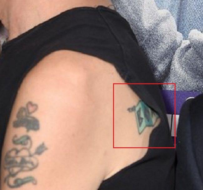 back tattoo of billy bob thorton