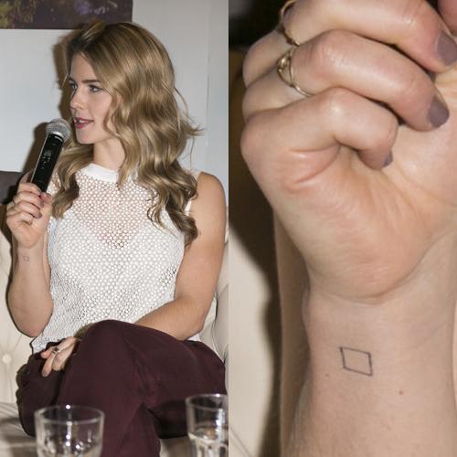 Celebrities with Single Needle Tattoos