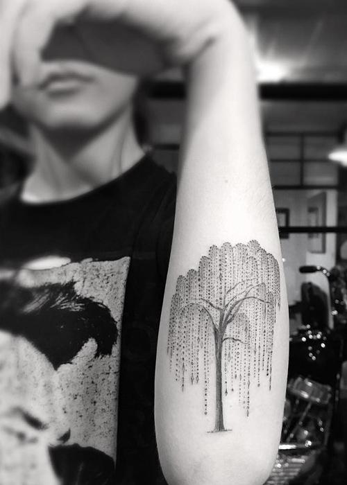 Celebrities with Tree Tattoo Designs