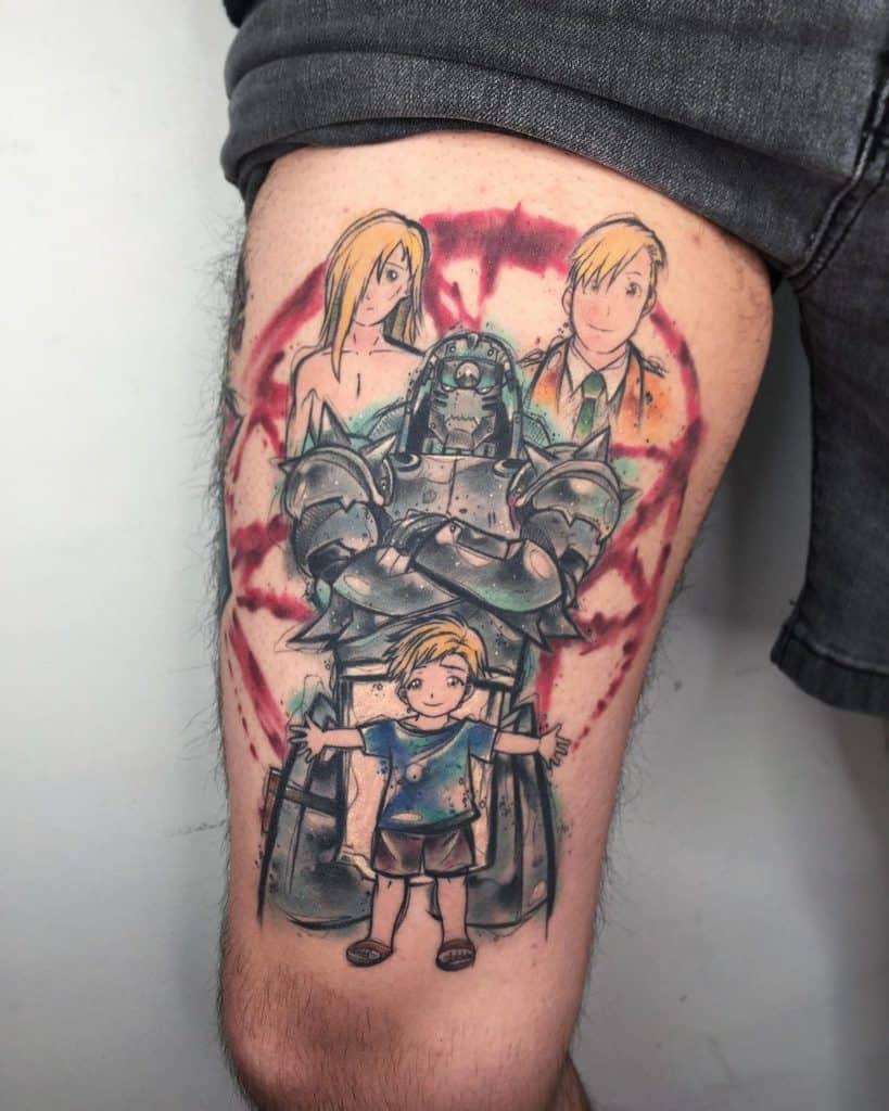 full metal alchemist tattoos