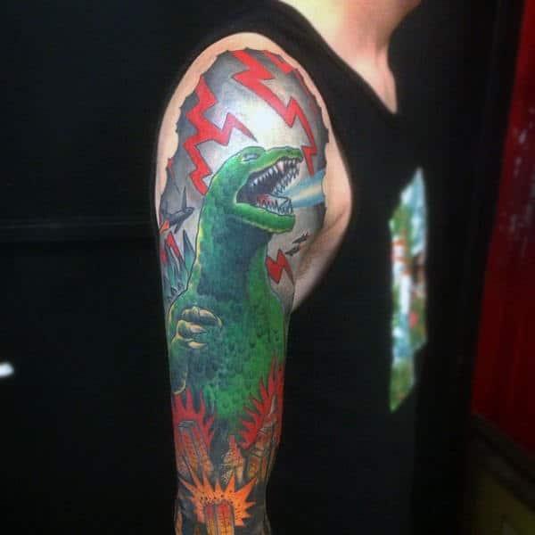 godzilla tattoos