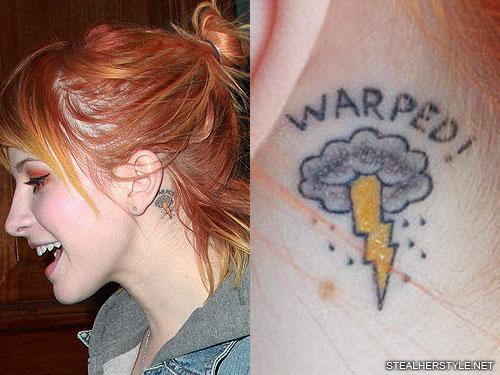 Celebrities with Lightning Tattoo