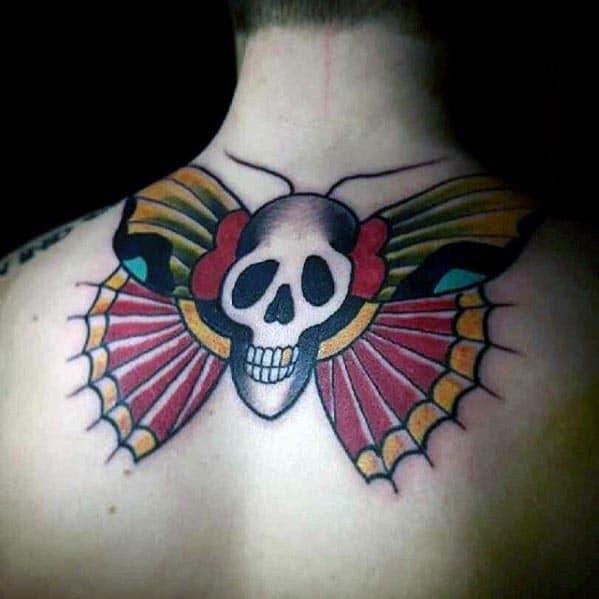 moth tattoo