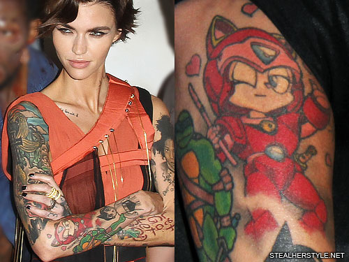Celebrities with Traditional Tattoos