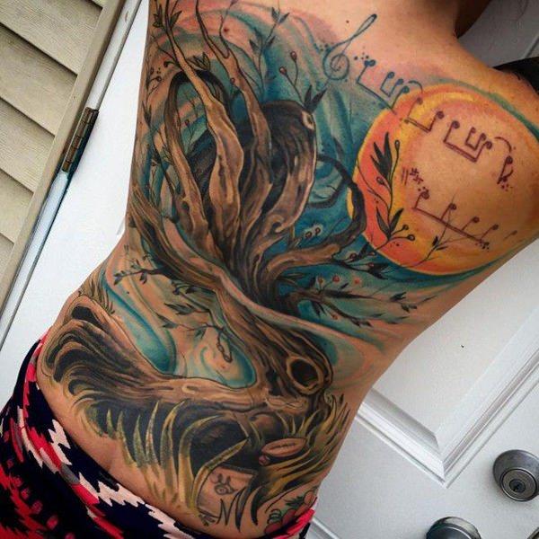 tree tattoo