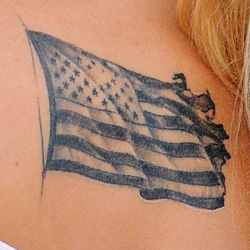 Celebrities with Patriotic Tattoos