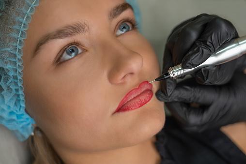 Lips Micropigmentation