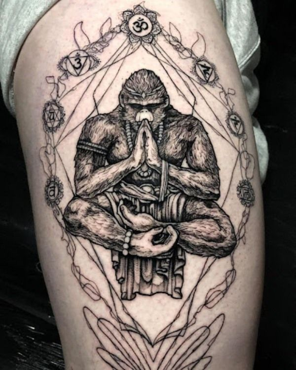 Mediator Gorilla Tattoo