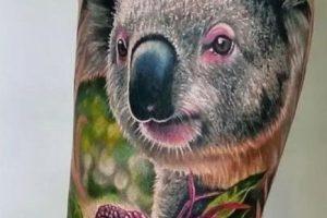 Realistic Koala Tattoo