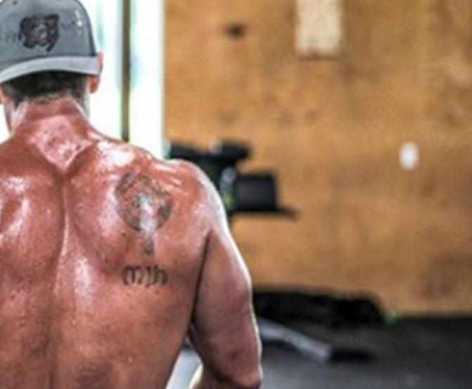 Rich back tattoo